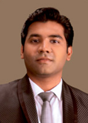 Mr. ABISHEK ABRAHAM-Trustee